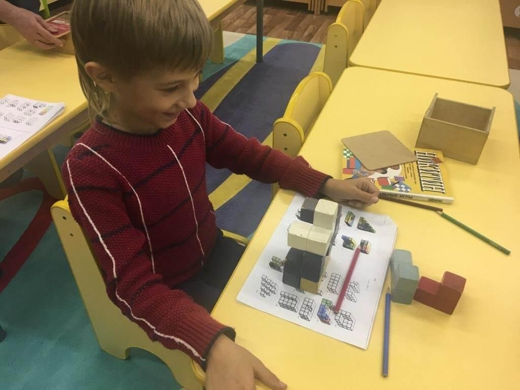 Развивающие игры по кубикам Никитина